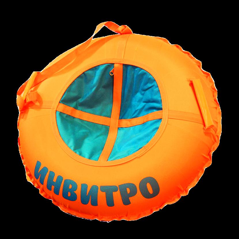 """Брендирование надувных санок серии """"Стандарт"""""""