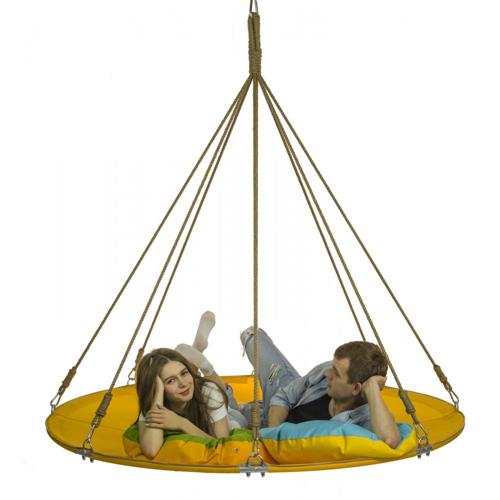 Подвесной гамак-кровать Имперско-желтый