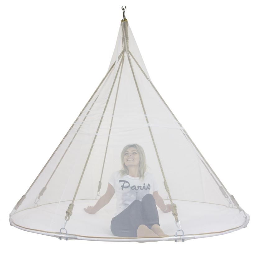 Подвесной гамак-кровать Белый