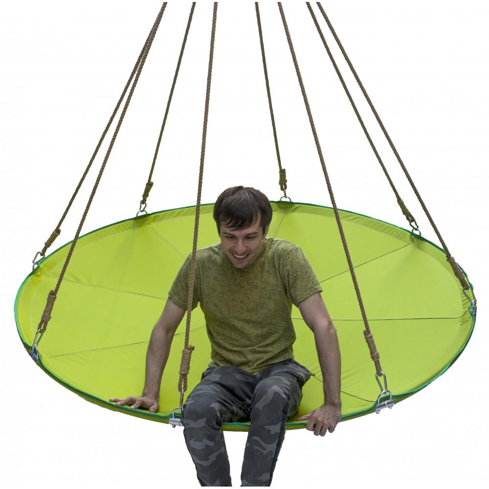Подвесной гамак-кровать Зеленое яблоко
