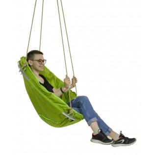 """Подвесное кресло """"Зеленое яблоко"""""""